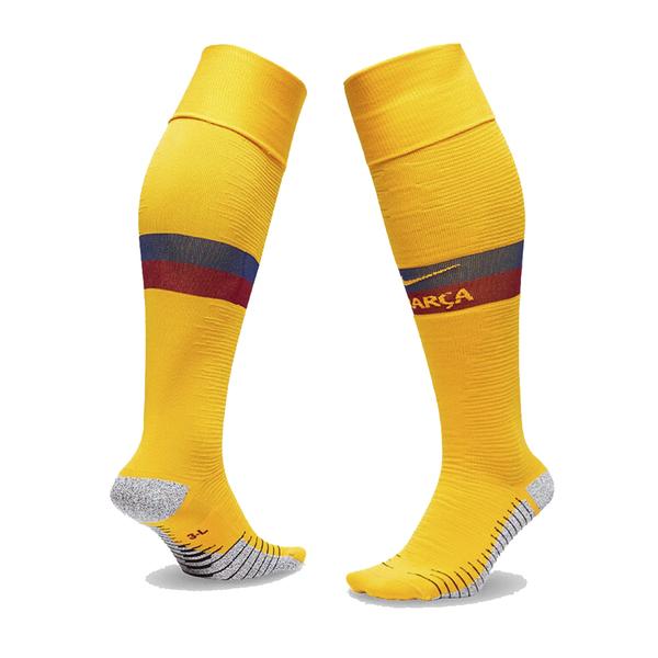 Гетры футбольные Барселона Nike детские для гостевых игр 2019-2020