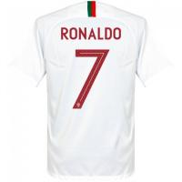 Футболка Сборная Португалии гостевая сезон 2018/19 Роналдо 7