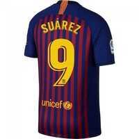 Футболка Суарес Барселона домашняя сезон 2018/19