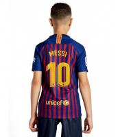 Детская форма Месси Барселона домашняя 2018-2019