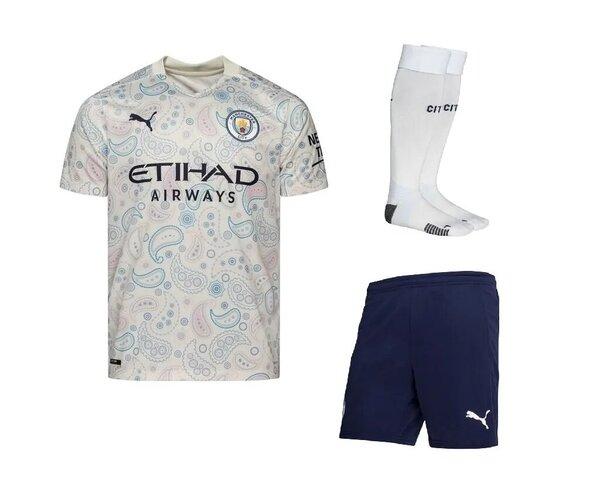 Манчестер Сити резервная форма 2020-2021(футболка + шорты +гетры)