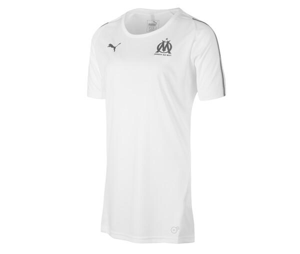 Футболка женская Марсель тренировочная сезон 2018/19 белая форма