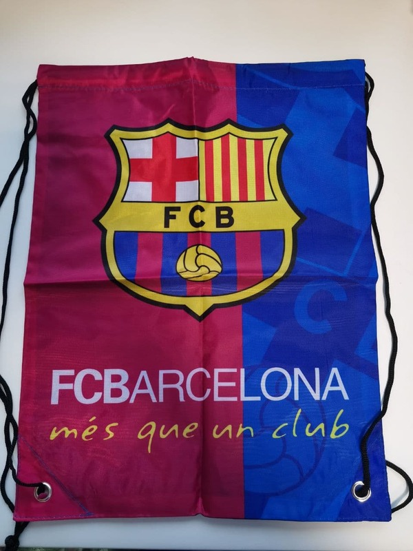 Барселона мешок для обуви с тонким шнурком