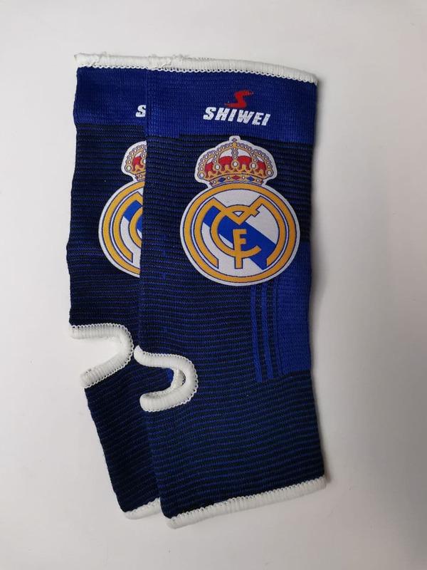 Футбольные бандажи на голеностоп Реал Мадрид
