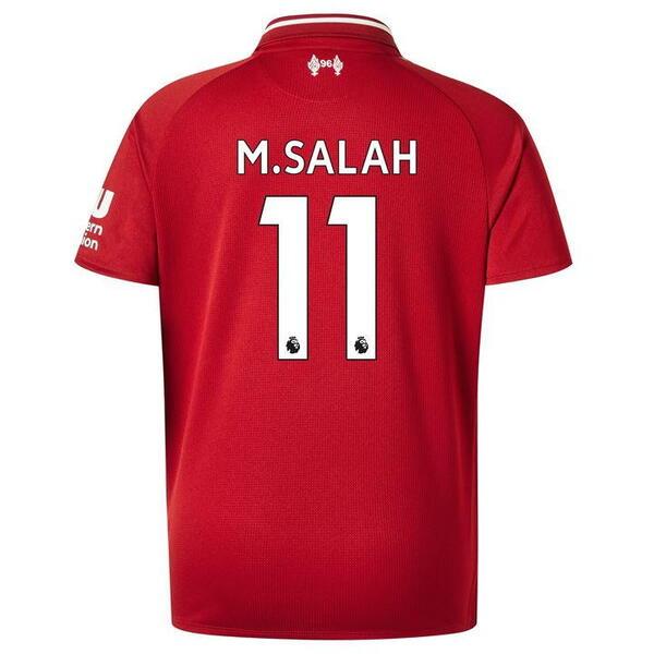 Футболка Ливерпуль домашняя сезон 2018/19 Салах 11