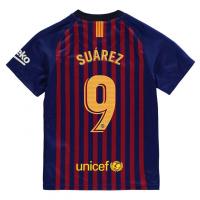 Детская футболка Суарес Барселоны домашняя 2018-19