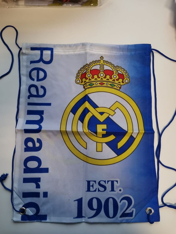 Реал Мадрид мешок для обуви с тонким шнурком