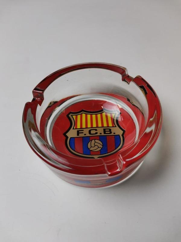 Пепельница стеклянная Барселона