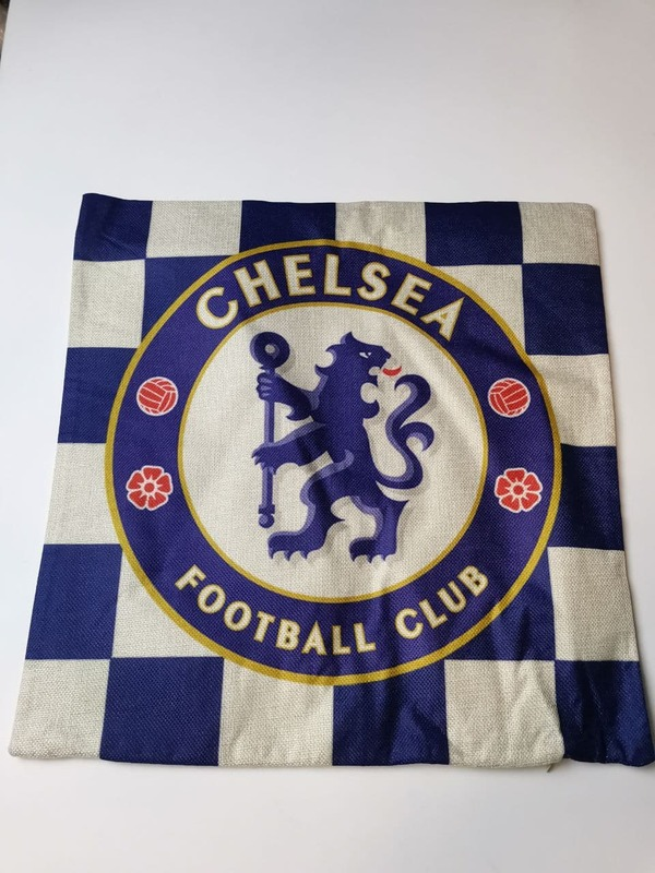 Наволочка на подушку с эмблемой Челси