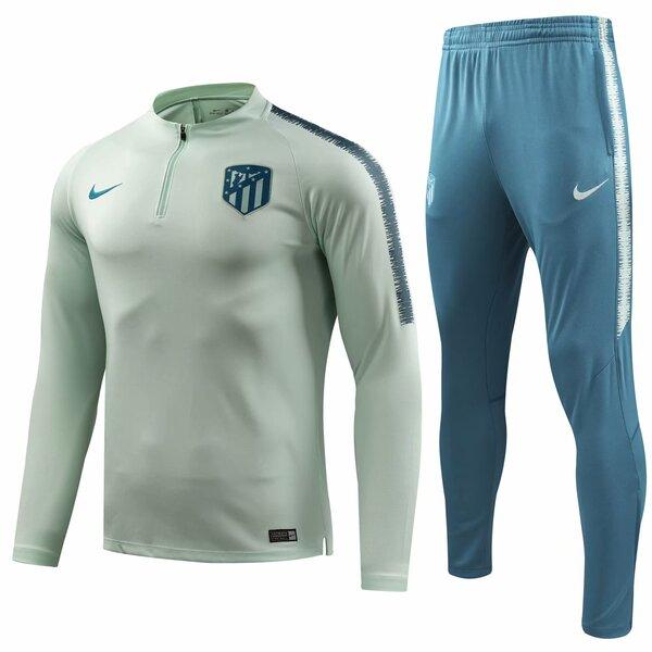 Тренировочный костюм Атлетико Мадрид голубой форма сезона 2018/19
