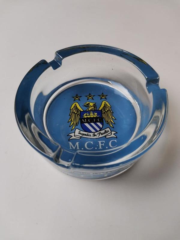 Пепельница стеклянная Манчестер Сити
