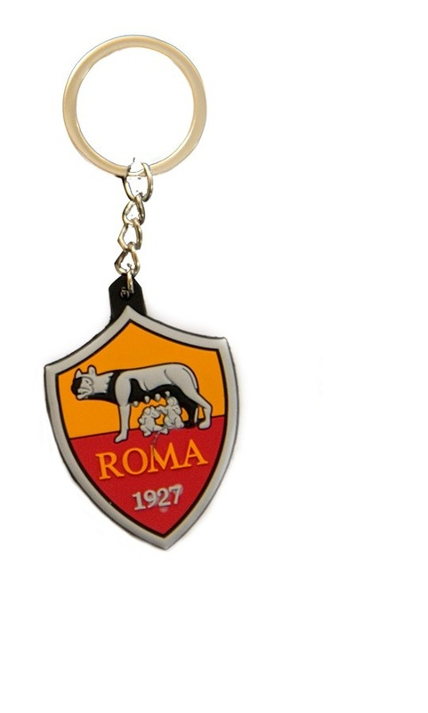 Брелок с эмблемой Рома