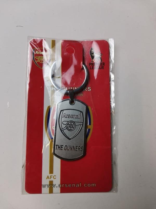 Металлический брелок с эмблемой Арсенал
