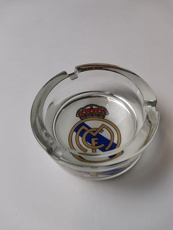 Пепельница стеклянная Реал Мадрид