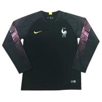 Детская футболка Сборная Франции вратарская сезон 2018/19 с длинным рукавом