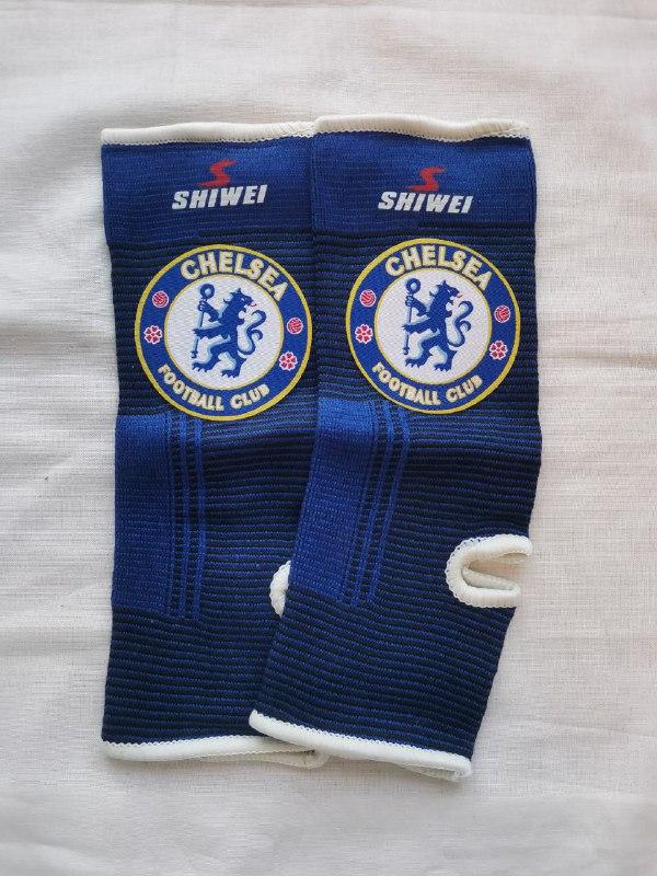 Челси футбольные бандажи на голеностоп
