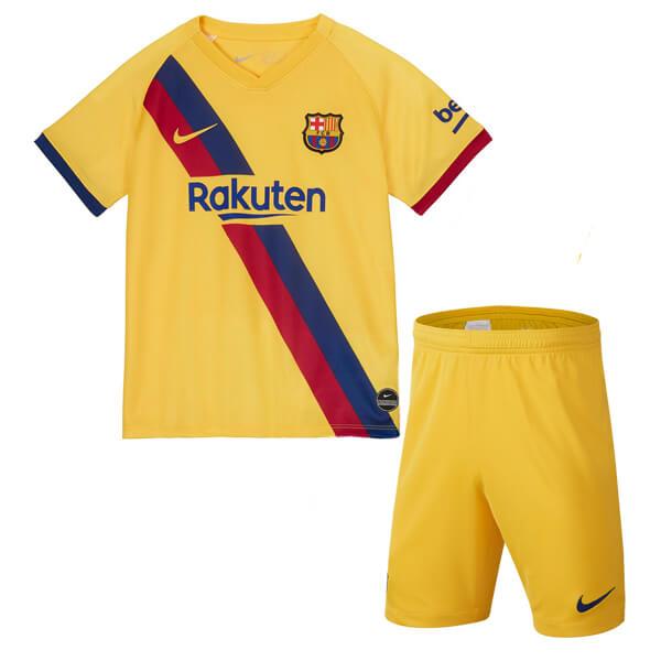 Барселона Детская гостевая форма сезона 2019-2020