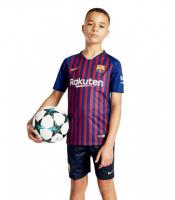 Домашняя форма Барселоны для детей 2018-2019
