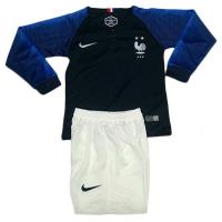 Детская форма Сборная Франции домашняя сезон 2018/19 с длинным рукавом