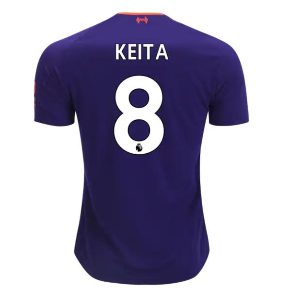 Майка гостевая Ливерпуль сезон 2018/19 Наби Кейта 8