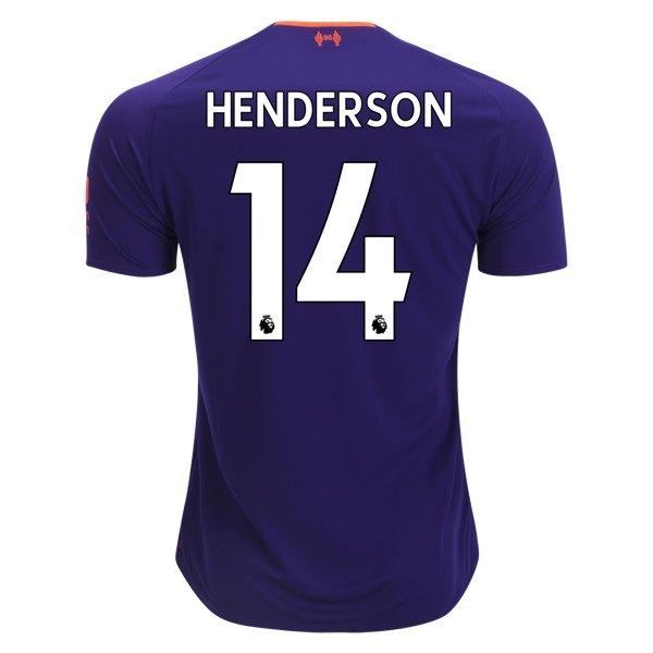 Майка Ливерпуль гостевая сезон 2018/19 Джордан Хендерсон 14