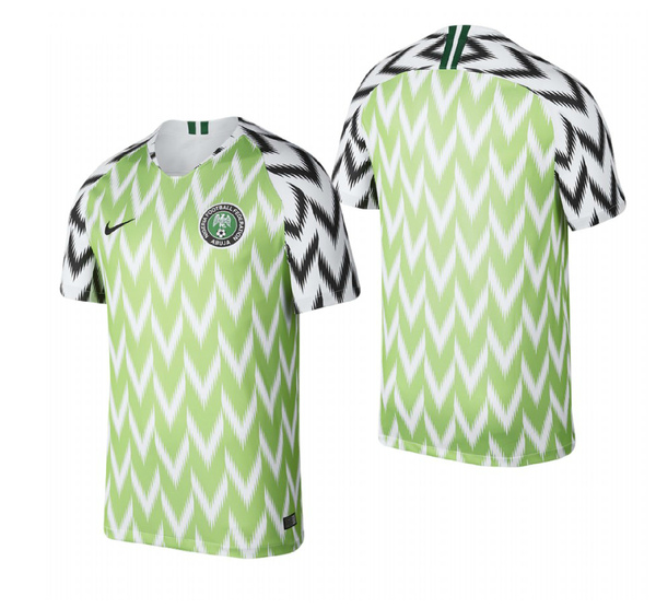 Футболка Сборная Нигерии домашняя сезон 2018/19