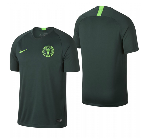 Футболка Сборная Нигерии гостевая сезон 2018/19