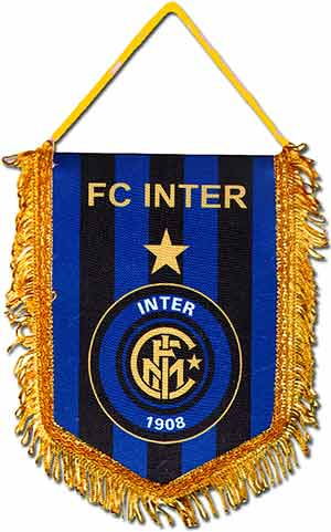 Вымпел Интер Милан в машину