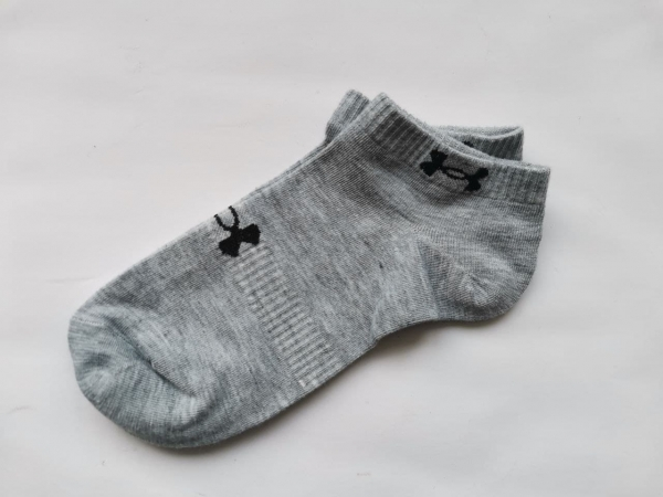Носки under armour короткие серого цвета