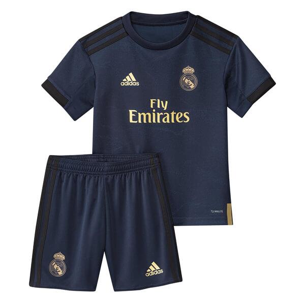 Реал Мадрид Футбольная форма детская для гостевых игр 2019-2020