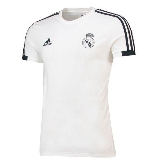 белая майка для тренировок Реал Мадрид для детей 2018/19