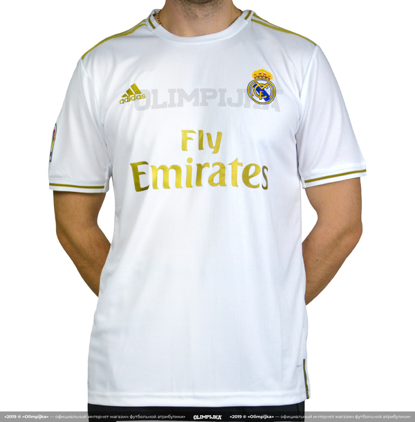 Домашняя футболка Реал Мадрид сезона 2019-2020