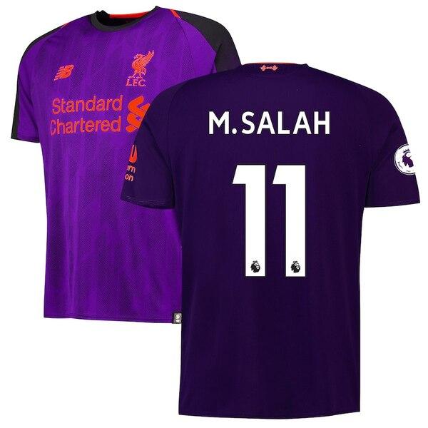 Футболка для гостевых игр Ливерпуль сезон 2018/19 Салах 11