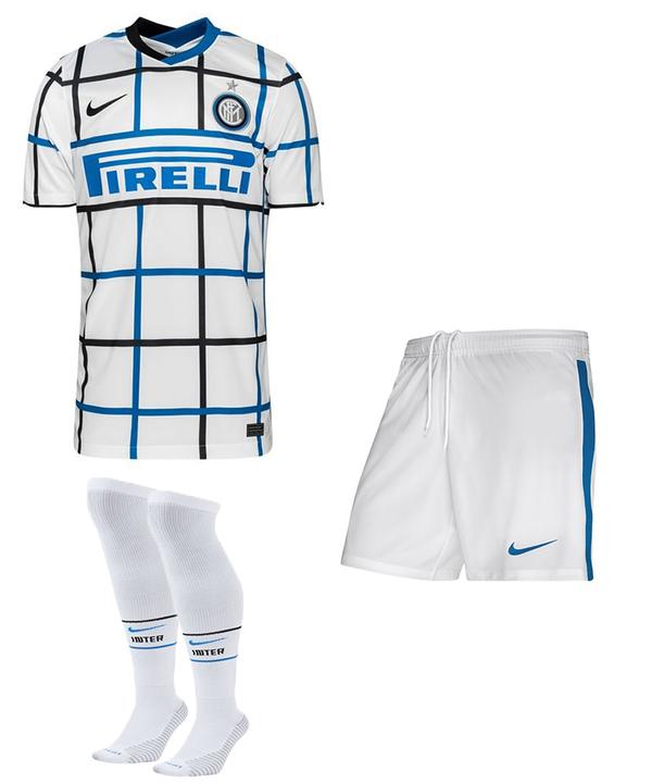 Интер гостевая форма сезон 2020-2021 (футболка+шорты+гетры)